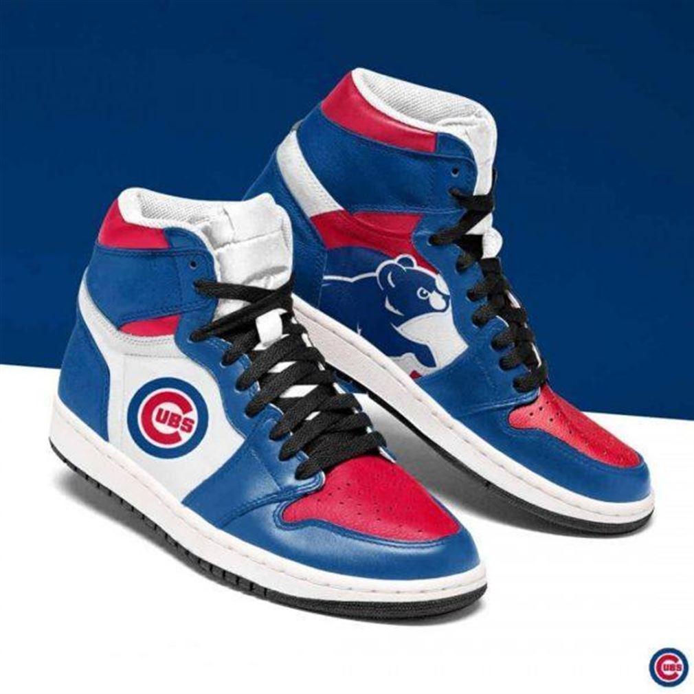Chicago Cubs Mlb Baseball Air Jordan Shoes Sport Sneaker Boots Shoes