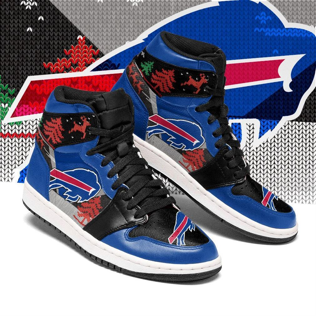 Christmas Buffalo Bills Nfl Air Jordan Shoes Sport Sneaker Boots Shoes