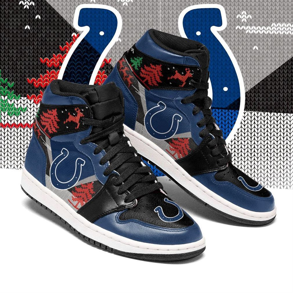 Christmas Indianapolis Colts Nfl Air Jordan Shoes Sport Sneaker Boots Shoes