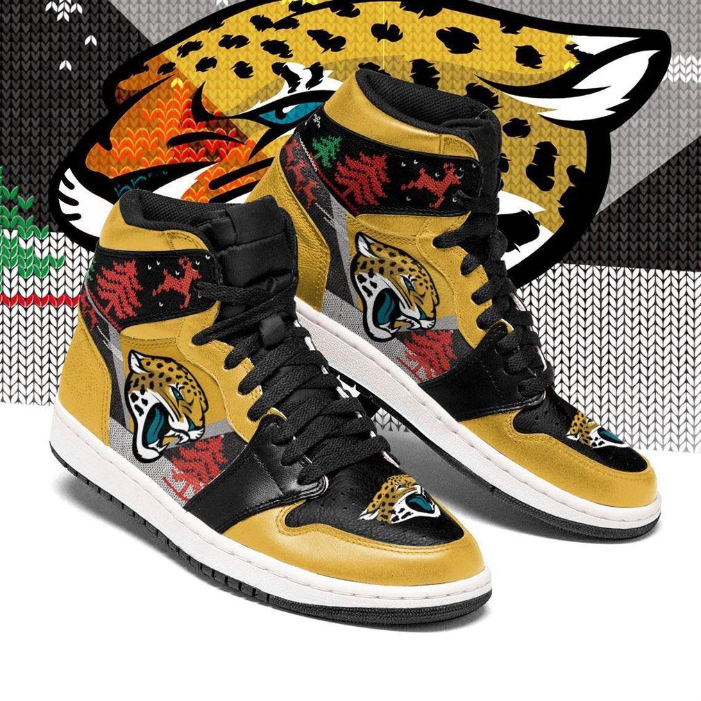 Christmas Jacksonville Jaguars Nfl Air Jordan Shoes Sport Sneaker Boots Shoes