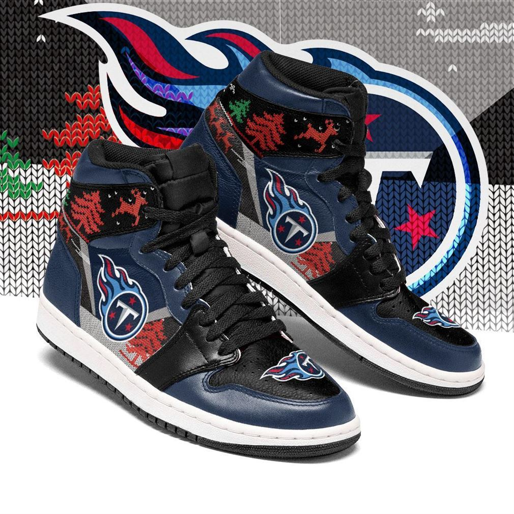 Christmas Tennessee Titans Nfl Air Jordan Shoes Sport Sneaker Boots Shoes