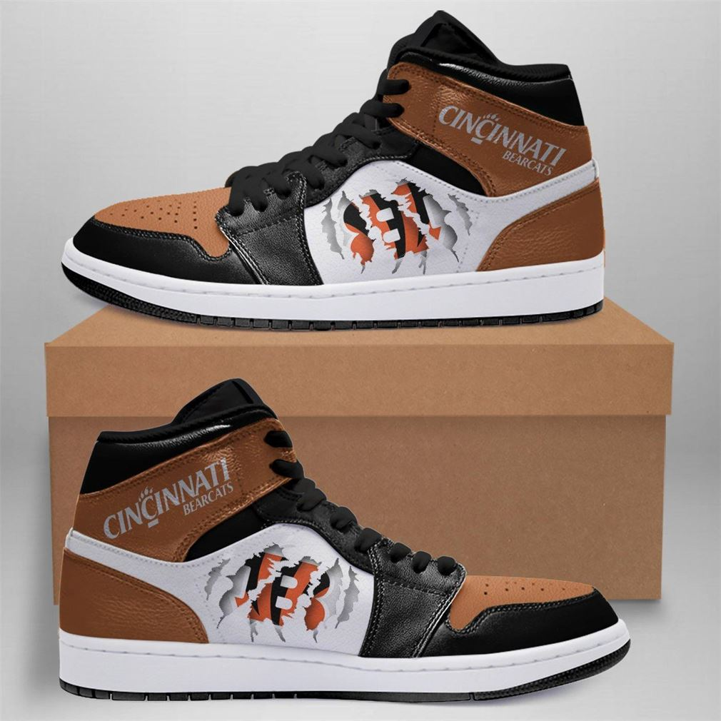 Cincinnati Bengals Nfl Air Jordan Shoes Sport Outdoor V2 Sneaker Boots Shoes