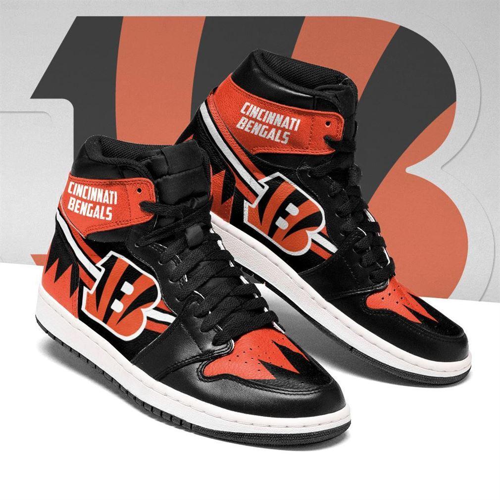 Cincinnati Bengals Nfl Football Air Jordan Shoes Sport V6 Sneaker Boots Shoes