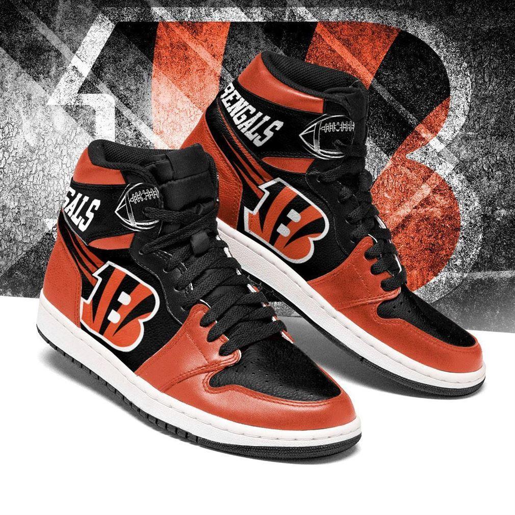 Cincinnati Bengals Nfl Football Air Jordan Shoes Sport V7 Sneaker Boots Shoes