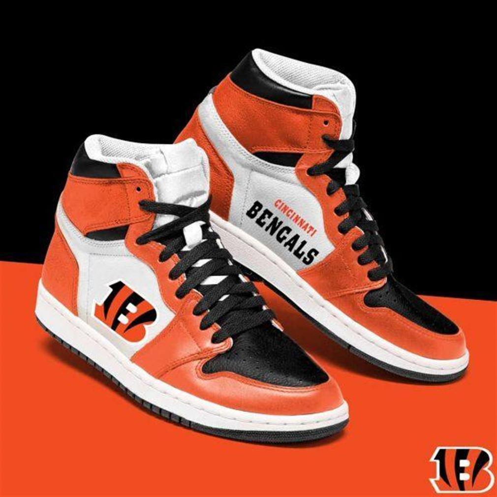 Cincinnati Bengals Nfl Football Air Jordan Shoes Sport Sneaker Boots Shoes