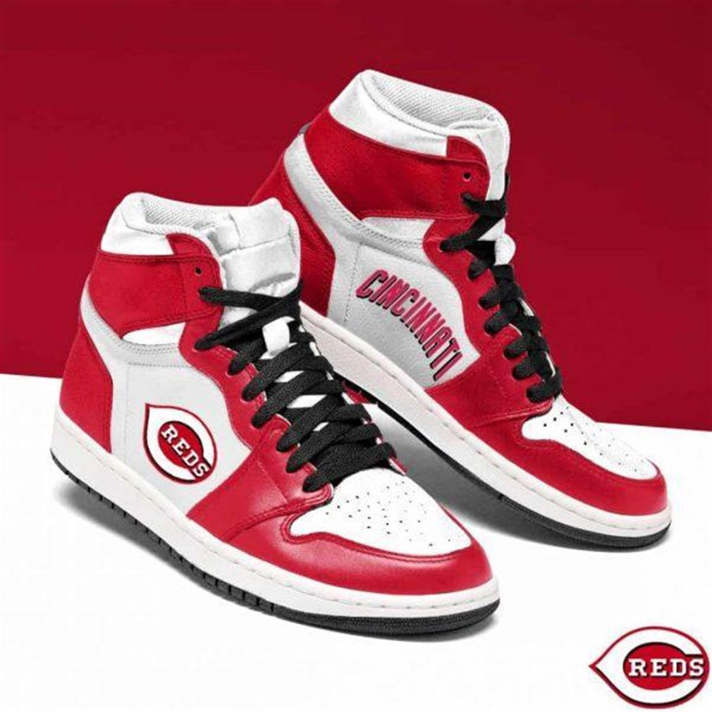 Cincinnati Reds Mlb Baseball Air Jordan Shoes Sport Sneaker Boots Shoes