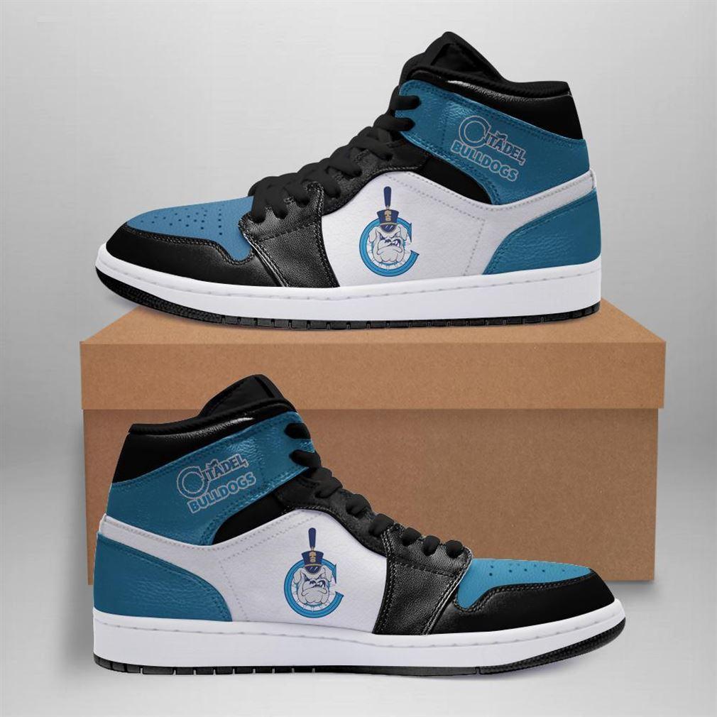 Citadel Bulldogs Ncaa Air Jordan Shoes Sport Sneaker Boots Shoes