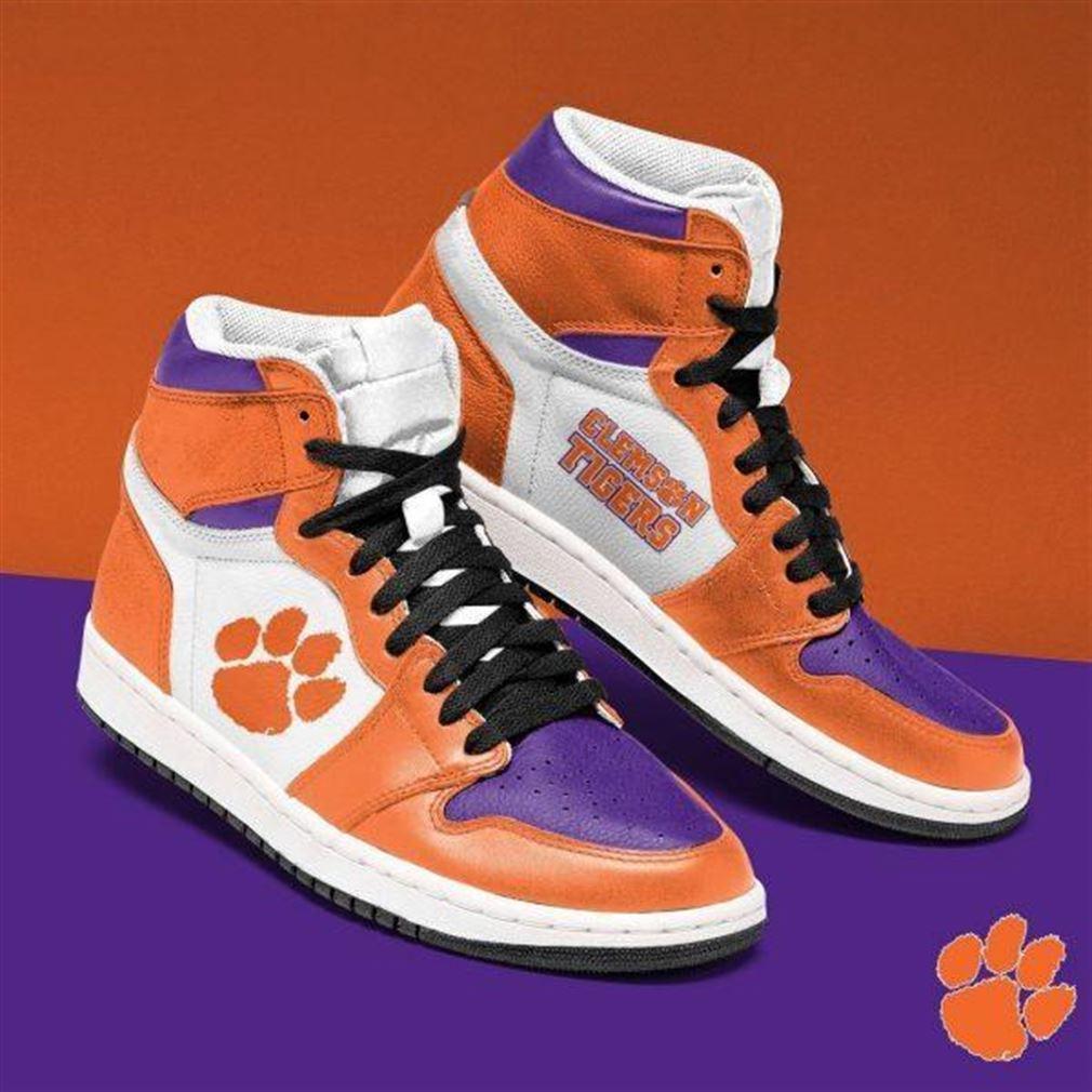 Clemson Tigers Ncaa Air Jordan Shoes Sport Sneaker Boots Shoes