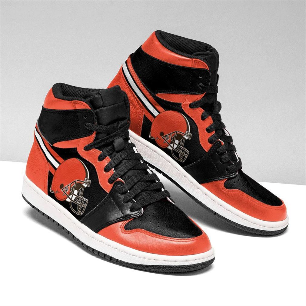 Cleveland Browns Nfl Air Jordan Shoes Sport Sneaker Boots Shoes