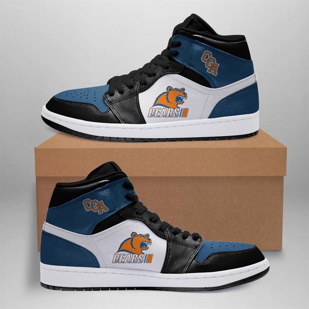 Coast Guard Academy Bears Ncaa Air Jordan Shoes Sport Sneaker Boots Shoes
