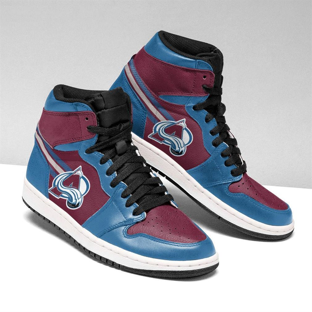 Colorado Avalanche Nhl Air Jordan Shoes Sport Sneaker Boots Shoes