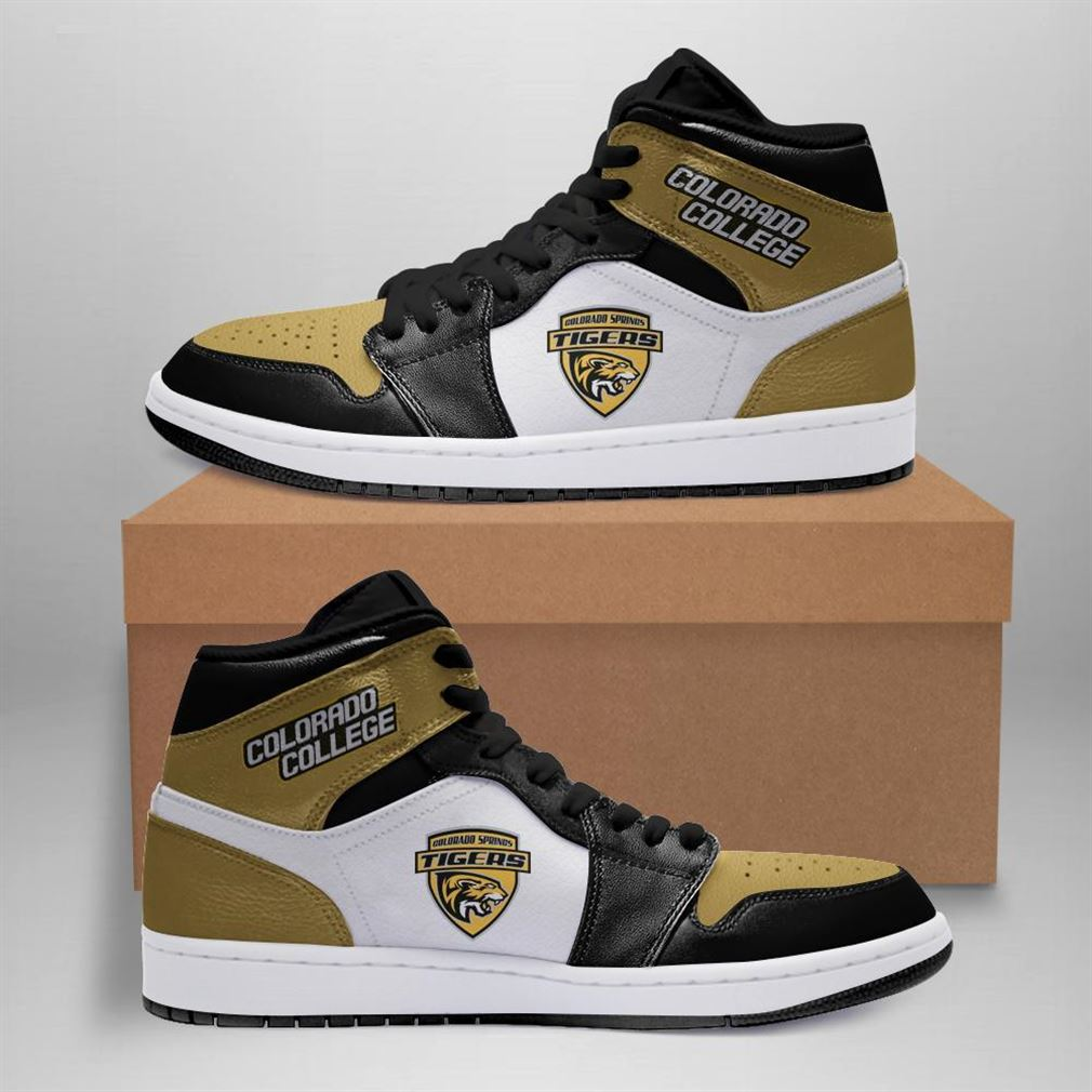 Colorado College Tigers Ncaa Air Jordan Shoes Sport Sneaker Boots Shoes