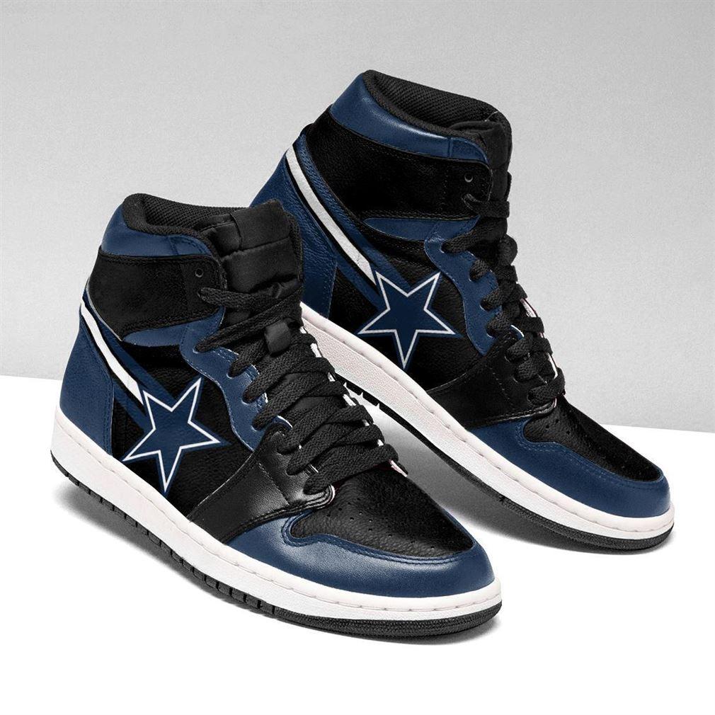 Dallas Cowboys Nfl Air Jordan Shoes Sport Sneaker Boots Shoes