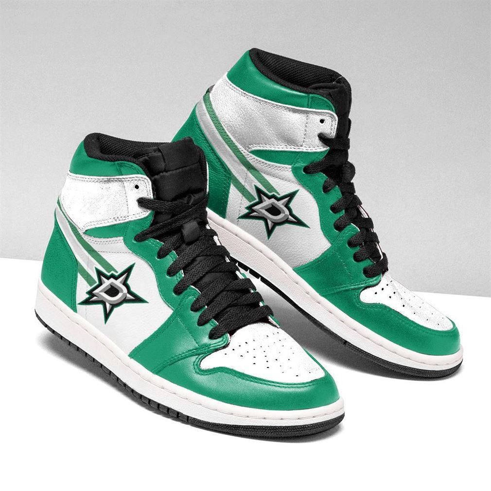 Dallas Stars Nhl Air Jordan Shoes Sport Sneaker Boots Shoes