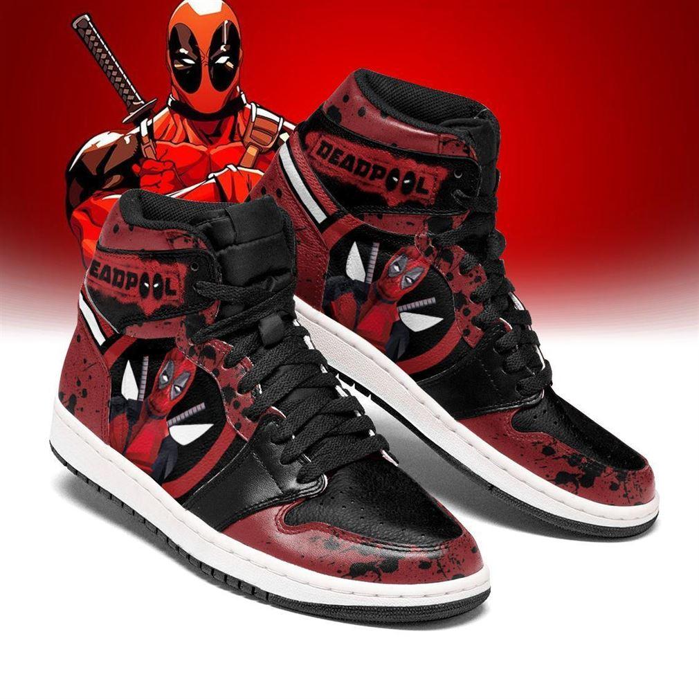 Deadpool Marvel Air Jordan Shoes Sport Mopqa Sneaker Boots Shoes