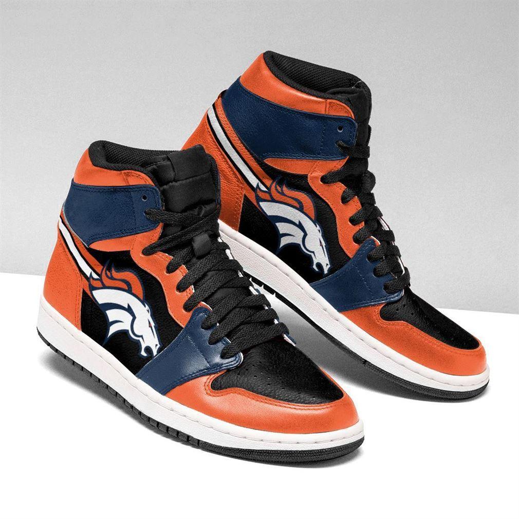 Denver Broncos Nfl Air Jordan Shoes Sport V2 Sneaker Boots Shoes