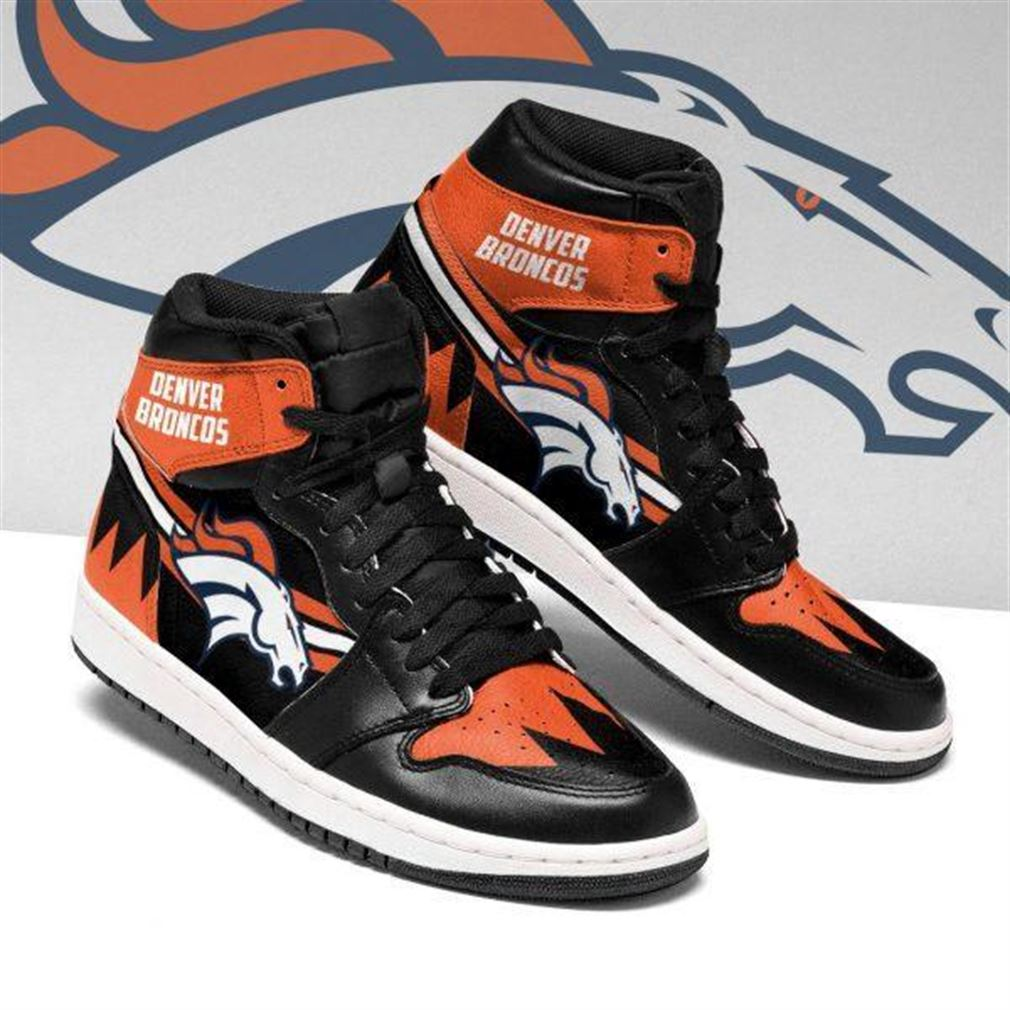 Denver Broncos Nfl Football Air Jordan Shoes Sport V4 Sneaker Boots Shoes
