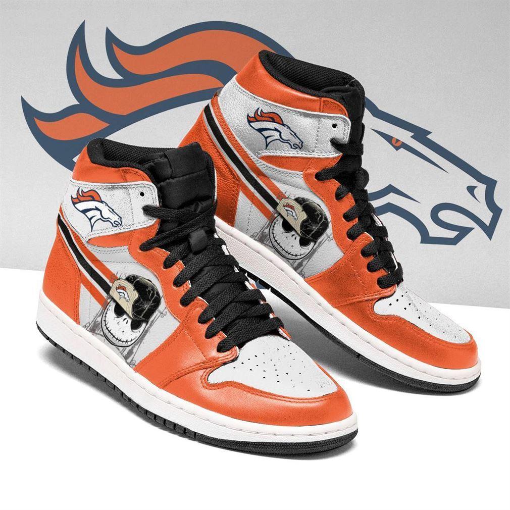 Denver Broncos Nfl Football Air Jordan Shoes Sport V5 Sneaker Boots Shoes