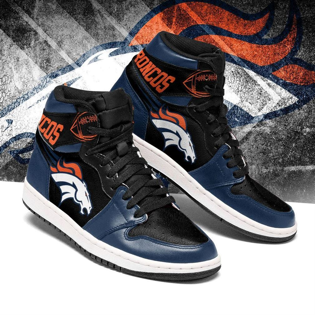 Denver Broncos Nfl Football Air Jordan Shoes Sport V6 Sneaker Boots Shoes