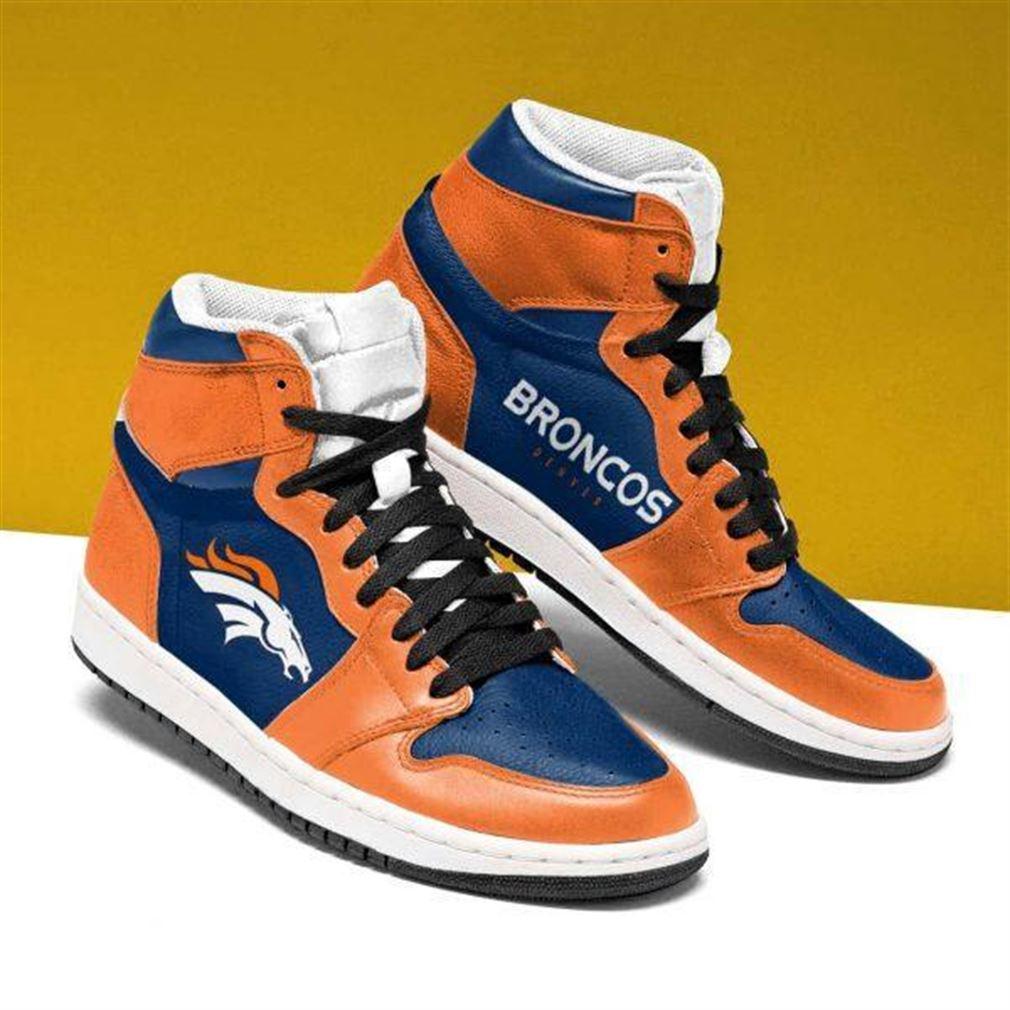 Denver Broncos Nfl Football Air Jordan Shoes Sport Sneaker Boots Shoes