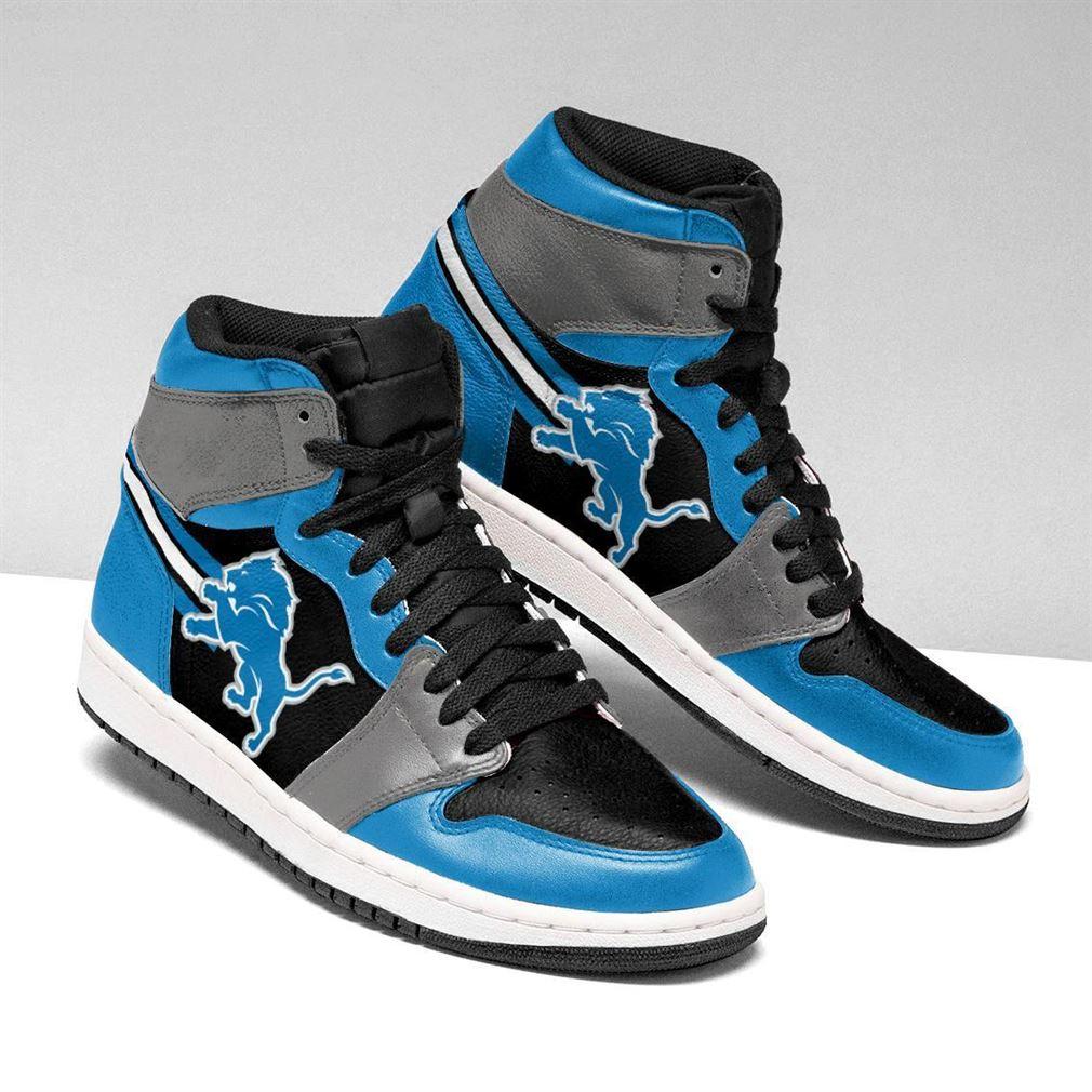 Detroit Lions Nfl Air Jordan Shoes Sport V2 Sneaker Boots Shoes