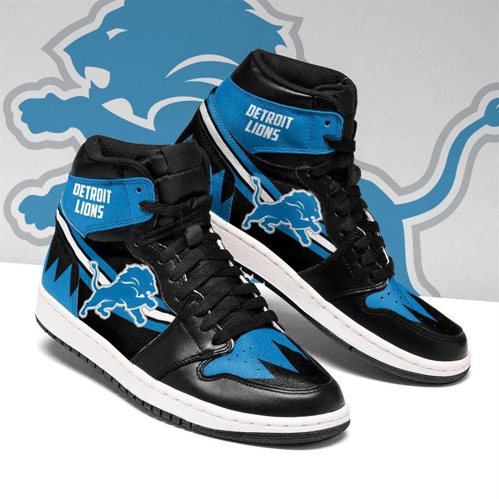 Detroit Lions Nfl Football Air Jordan Shoes Sport V4 Sneaker Boots Shoes