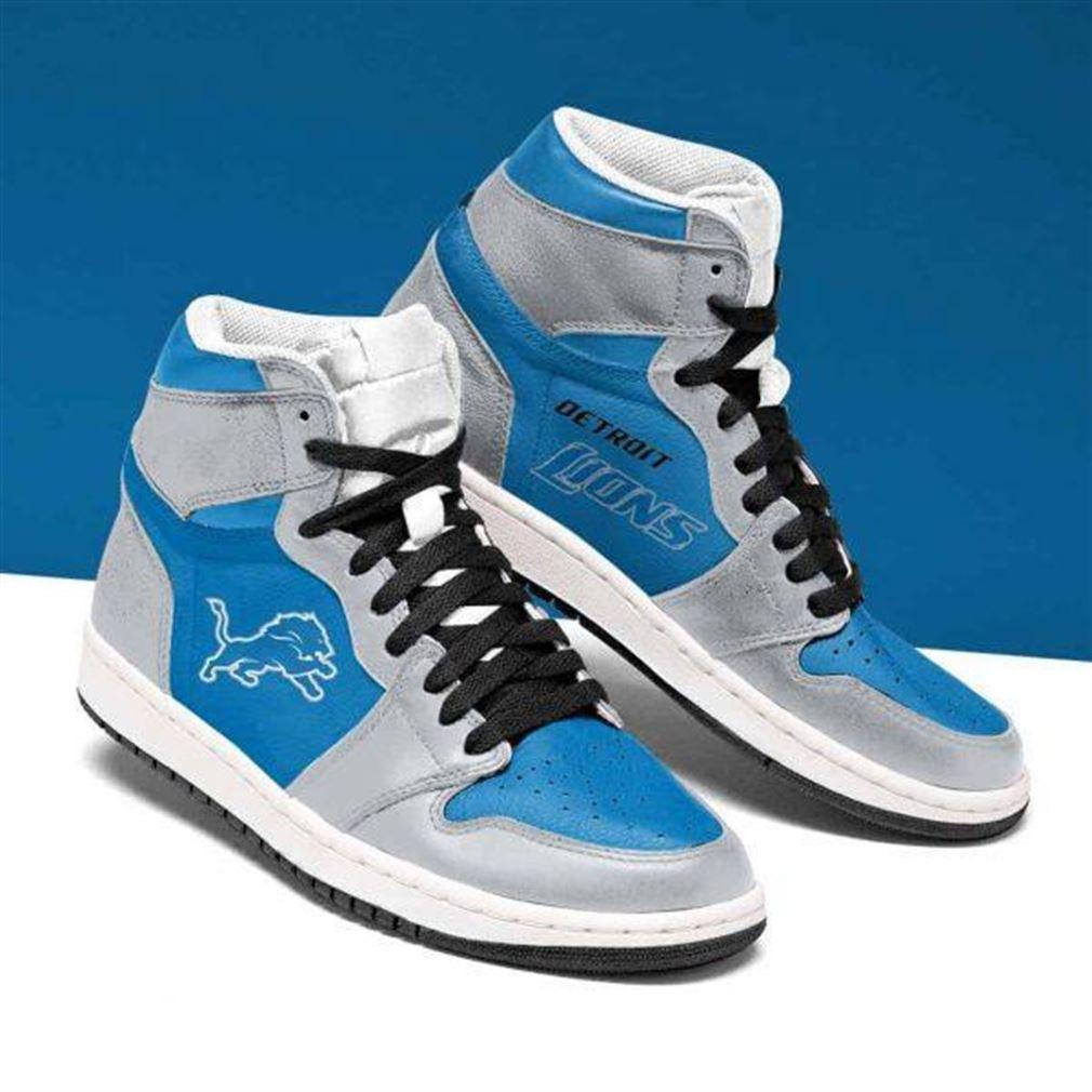 Detroit Lions Nfl Football Air Jordan Shoes Sport Sneaker Boots Shoes
