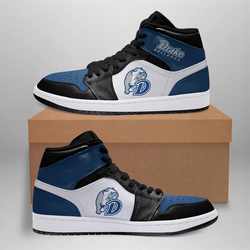 Drake Bulldogs Ncaa Air Jordan Shoes Sport Sneaker Boots Shoes