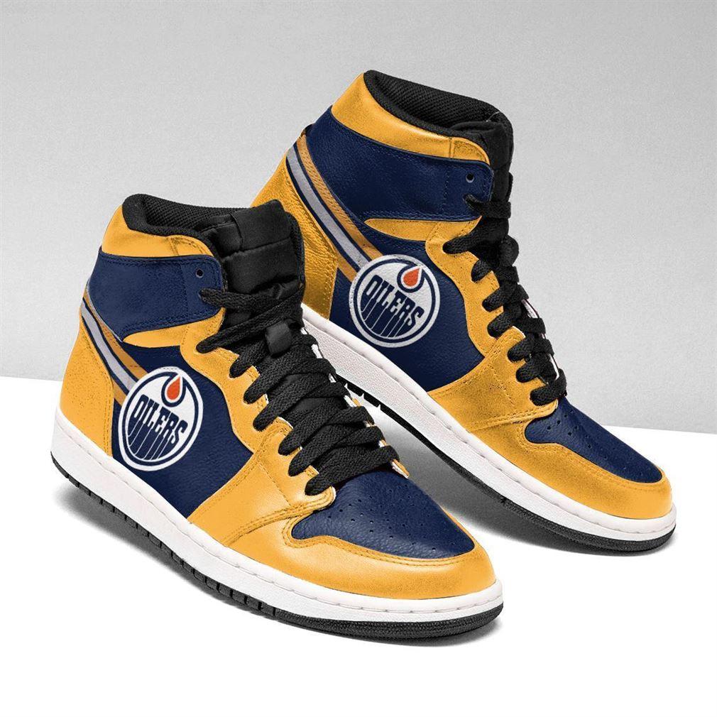 Edmonton Oilers Nhl Air Jordan Shoes Sport Sneaker Boots Shoes