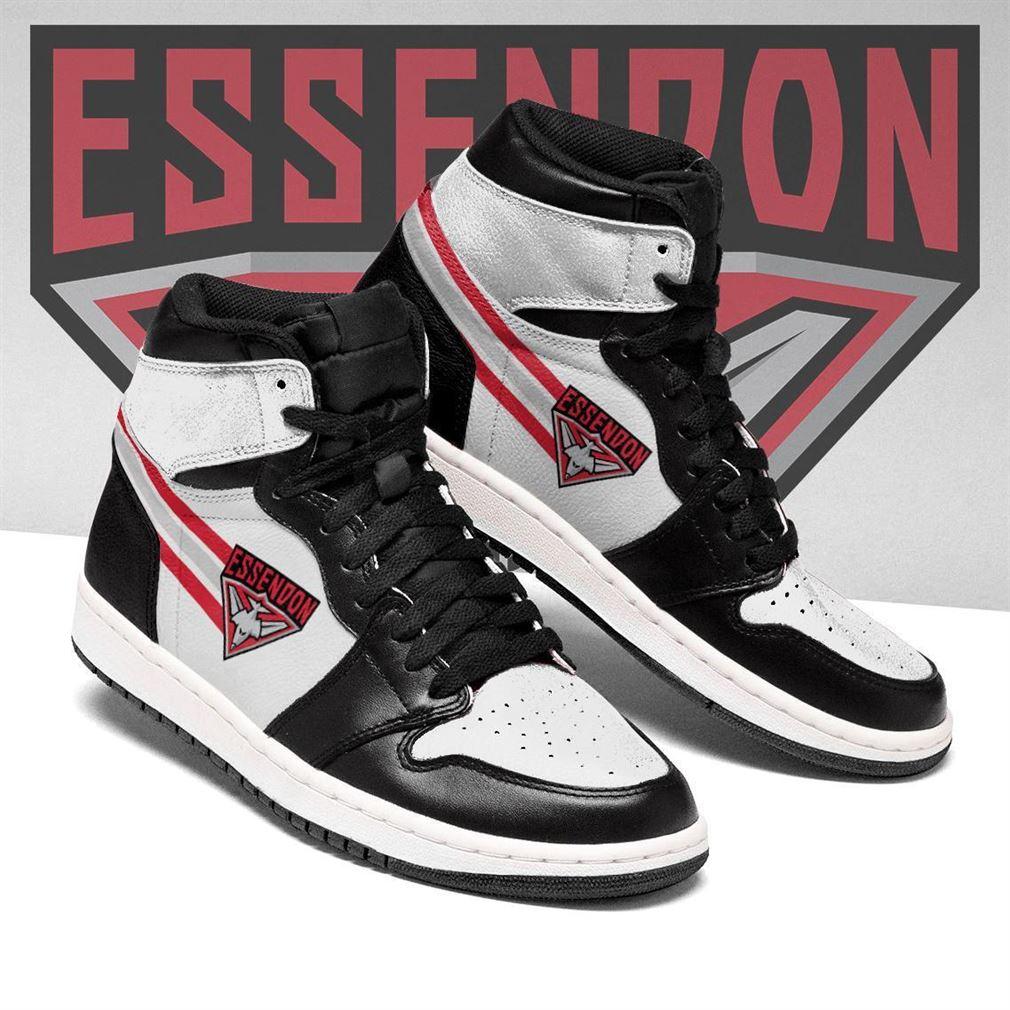 Essendon Bombers Afl Air Jordan Shoes Sport Sneaker Boots Shoes