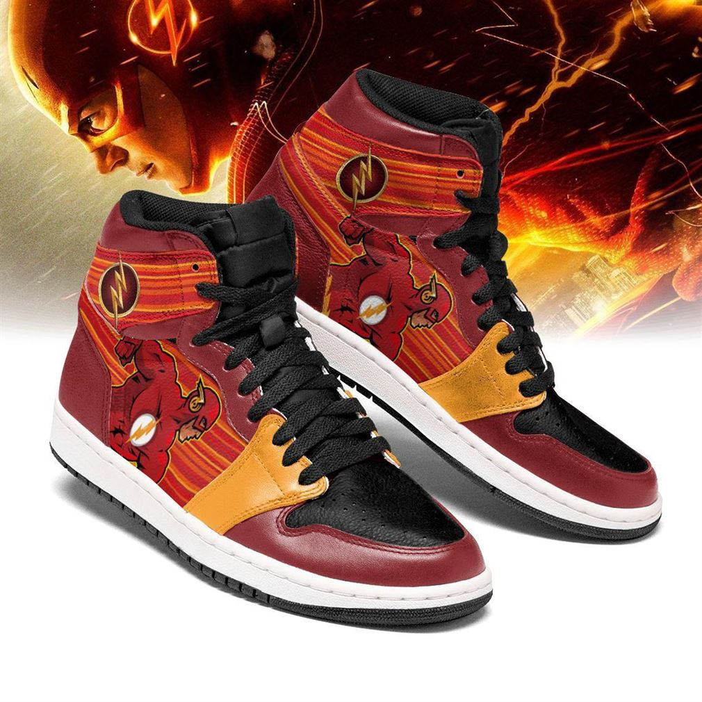 Flash Dc Comics Air Jordan Shoes Sport Vip Sneaker Boots Shoes