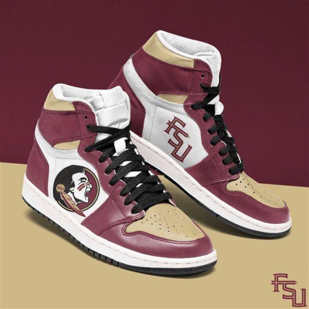 Florida State Seminoles Ncaa Air Jordan Shoes Sport Sneaker Boots Shoes