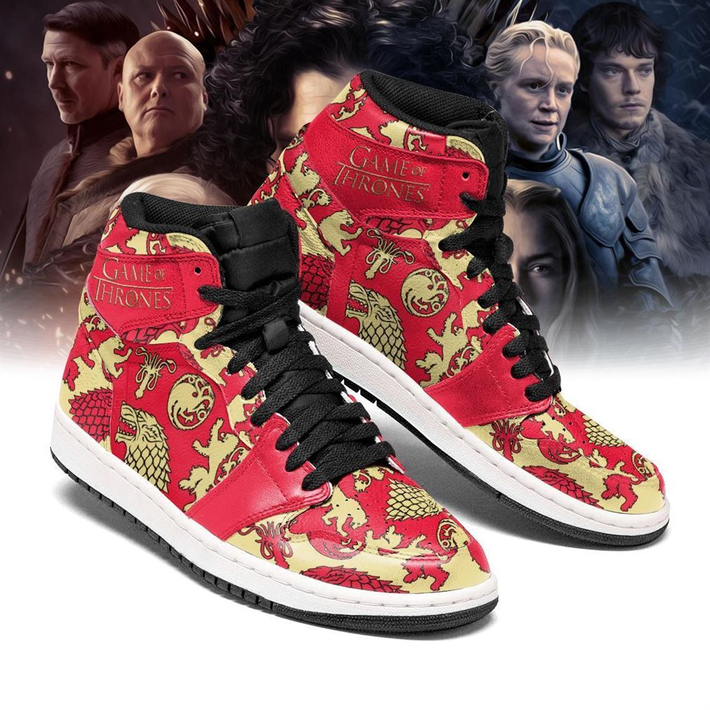 Game Of Thrones Air Jordan Shoes Sport Sneaker Boots Shoes