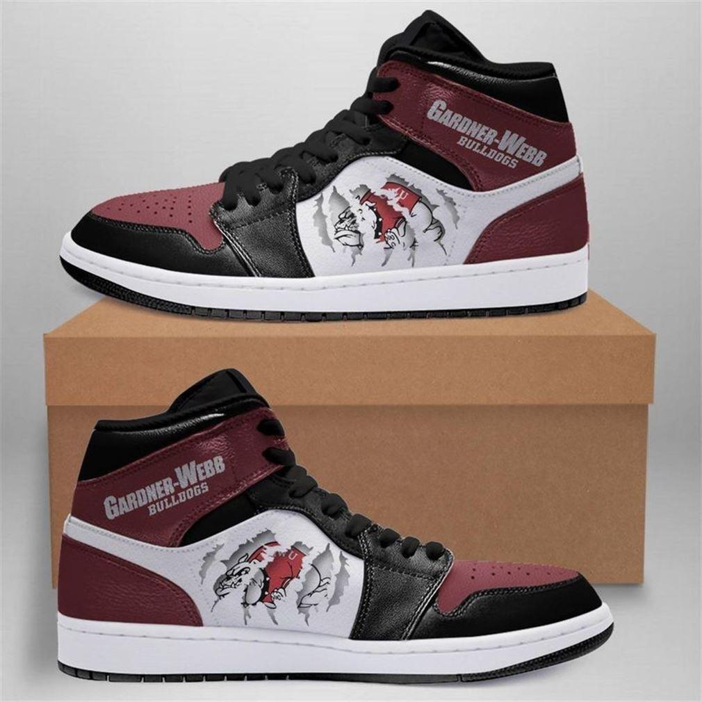 Gardner-webb Bulldogs Jordan Shoes Sport Custom Jordan Shoes V2 Sneaker Boots Shoes