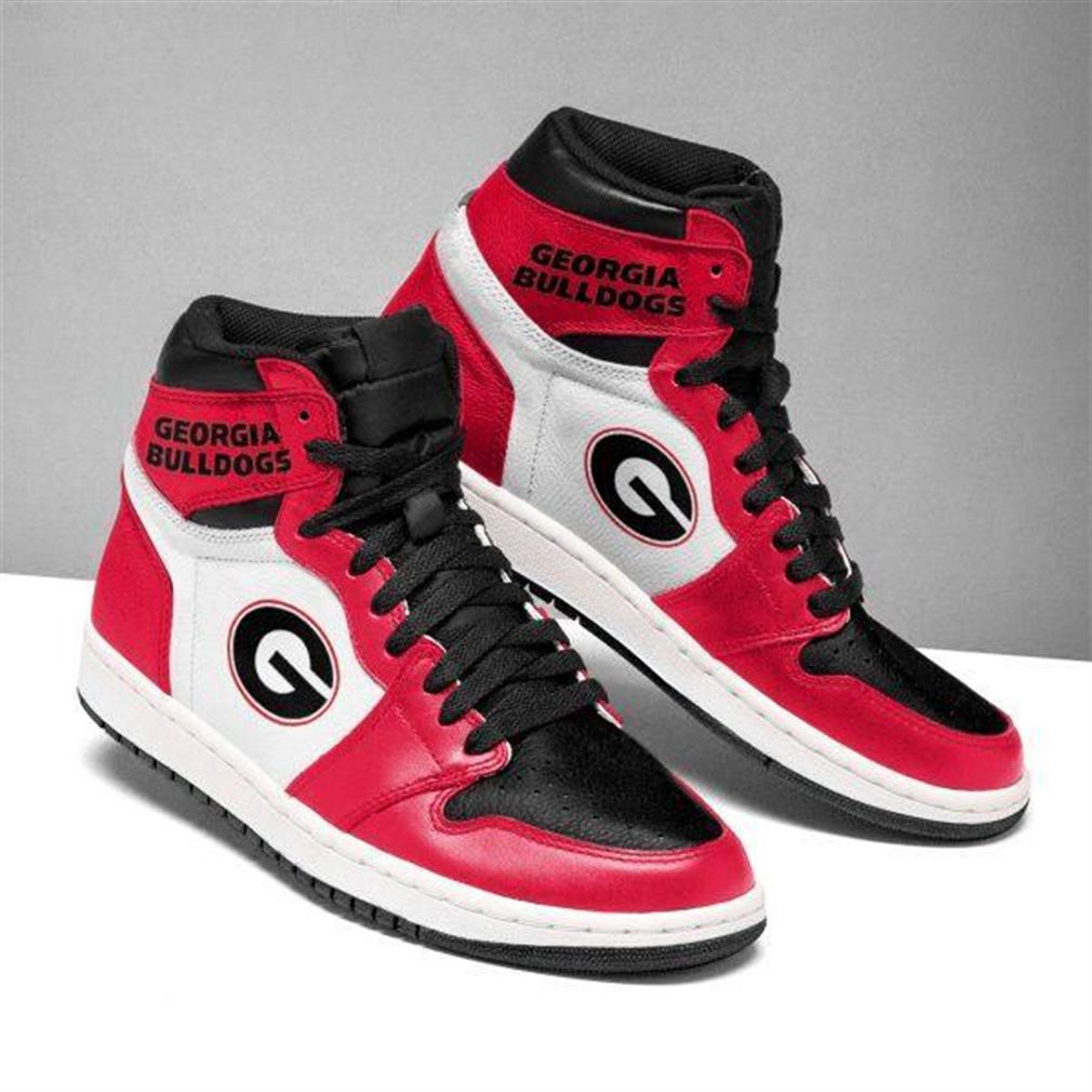 Georgia Bulldogs Ncaa Air Jordan Shoes Sport V2 Sneaker Boots Shoes