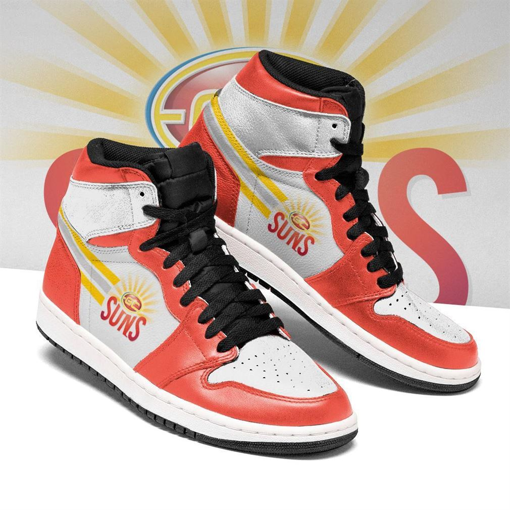 Gold Coast Suns Afl Football Air Jordan Shoes Sport Sneaker Boots Shoes