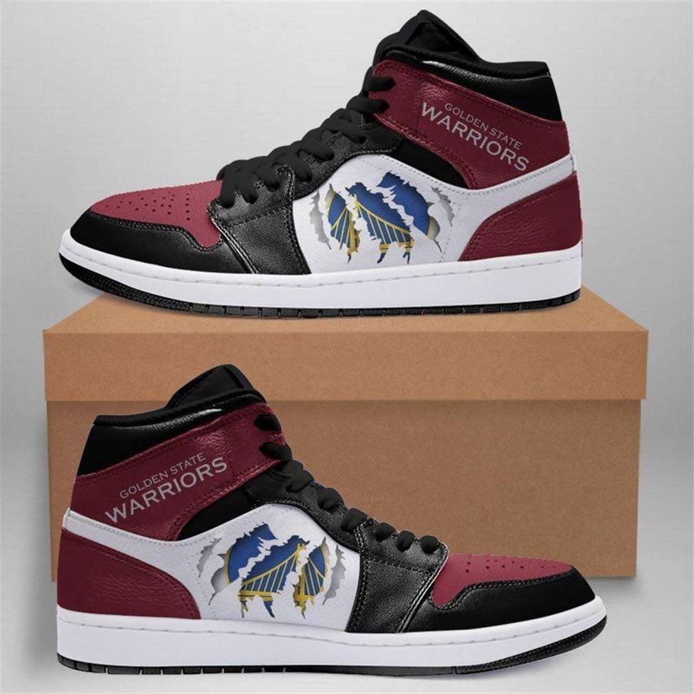 Golden State Warriors Nba Jordan Shoes Sport Custom Jordan Shoe Sneaker Sneaker Boots Shoes
