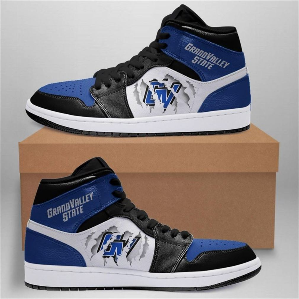 Grand Valley State Lakers Jordan Shoes Sport Custom Jordan Shoe Sneaker V2 Sneaker Boots Shoes