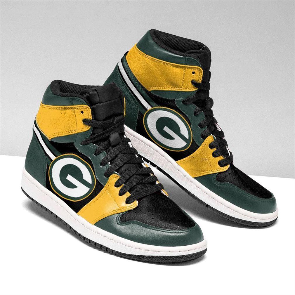 Green Bay Packers Nfl Football Air Jordan Shoes Sport V2 Sneaker Boots Shoes