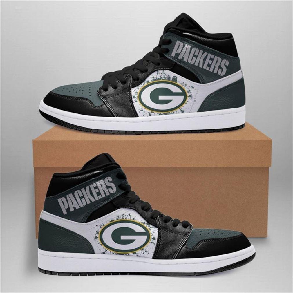 Green Bay Packers Nfl Jordan Shoes Sport Custom Jordan Shoe Sneaker V2 Sneaker Boots Shoes