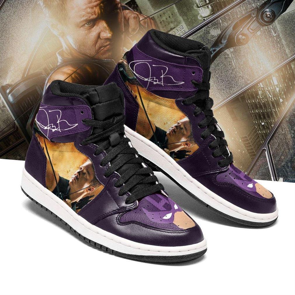 Hawkeye Marvel Air Jordan Shoes Sport Sneaker Boots Shoes