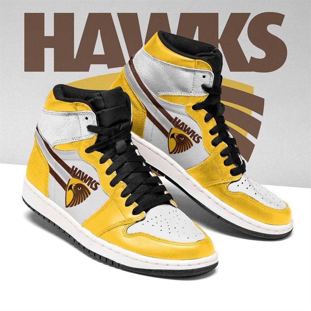 Hawthorn Hawks Afl Air Jordan Shoes Sport Sneaker Boots Shoes