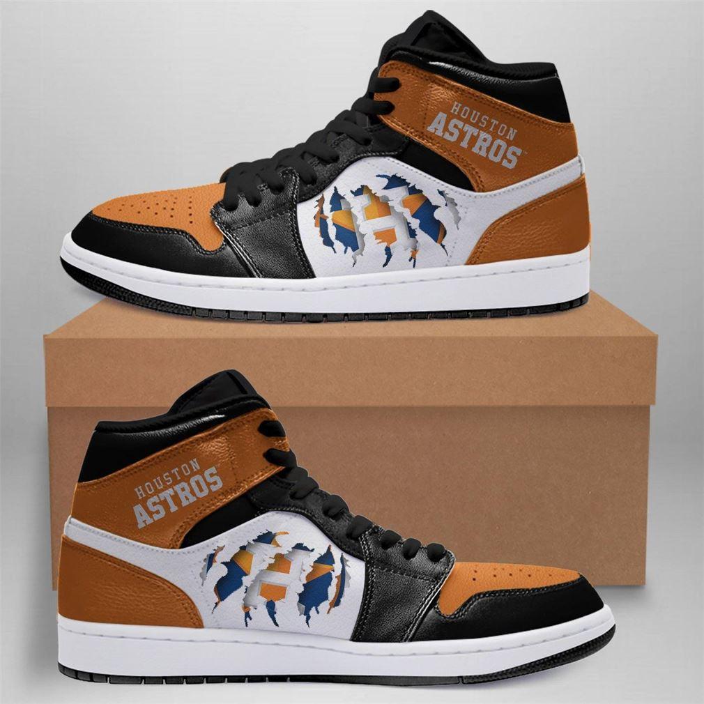 Houston Astros Mlb Air Jordan Basketball Shoes Sport Sneaker Boots Shoes