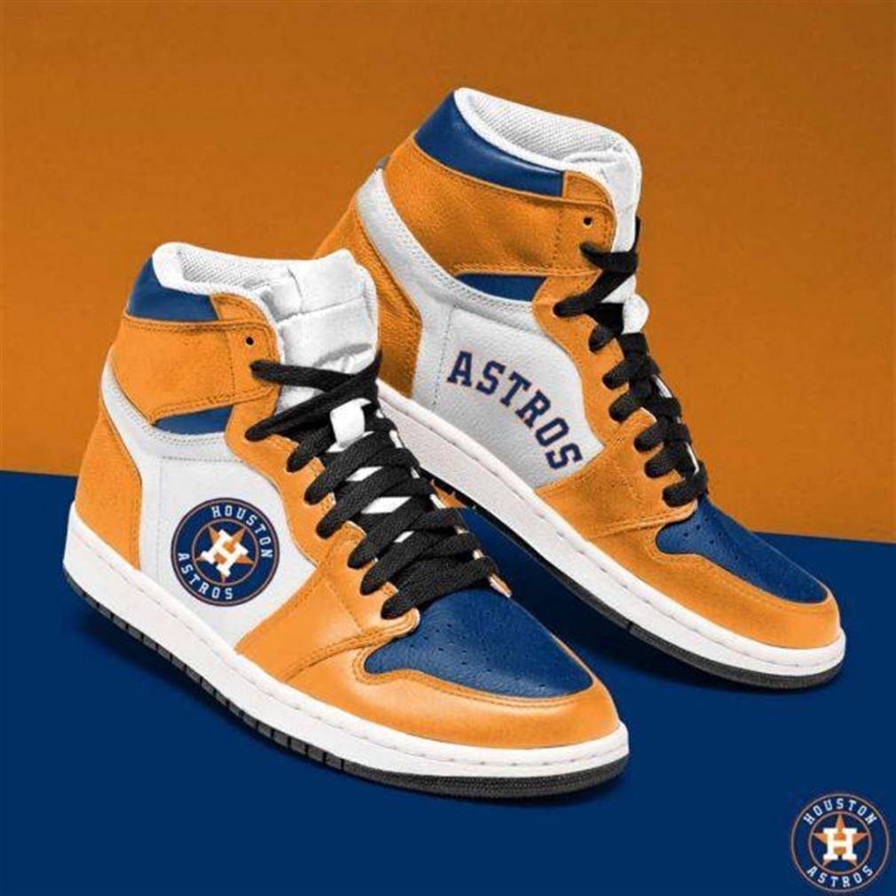 Houston Astros Mlb Baseball Air Jordan Shoes Sport Sneaker Boots Shoes