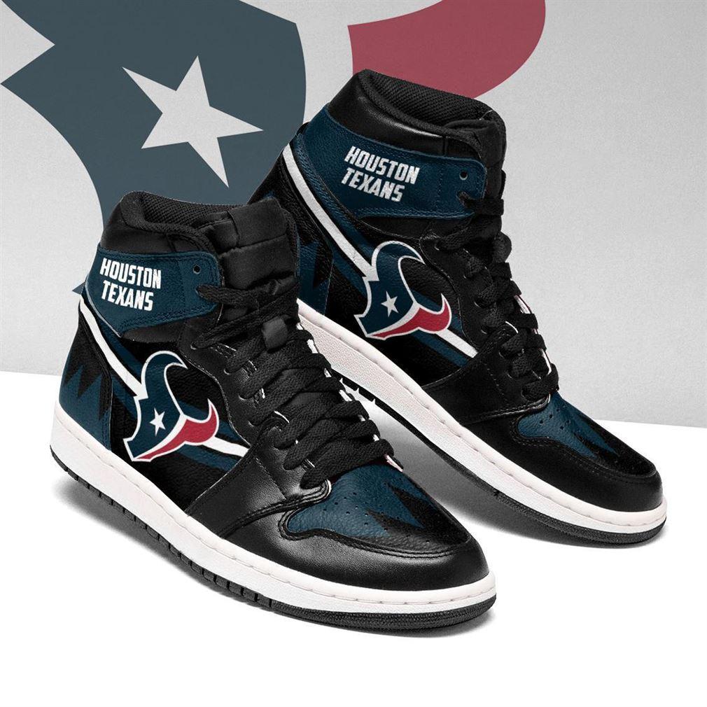 Houston Texans Nfl Football Air Jordan Shoes Sport V4 Sneaker Boots Shoes