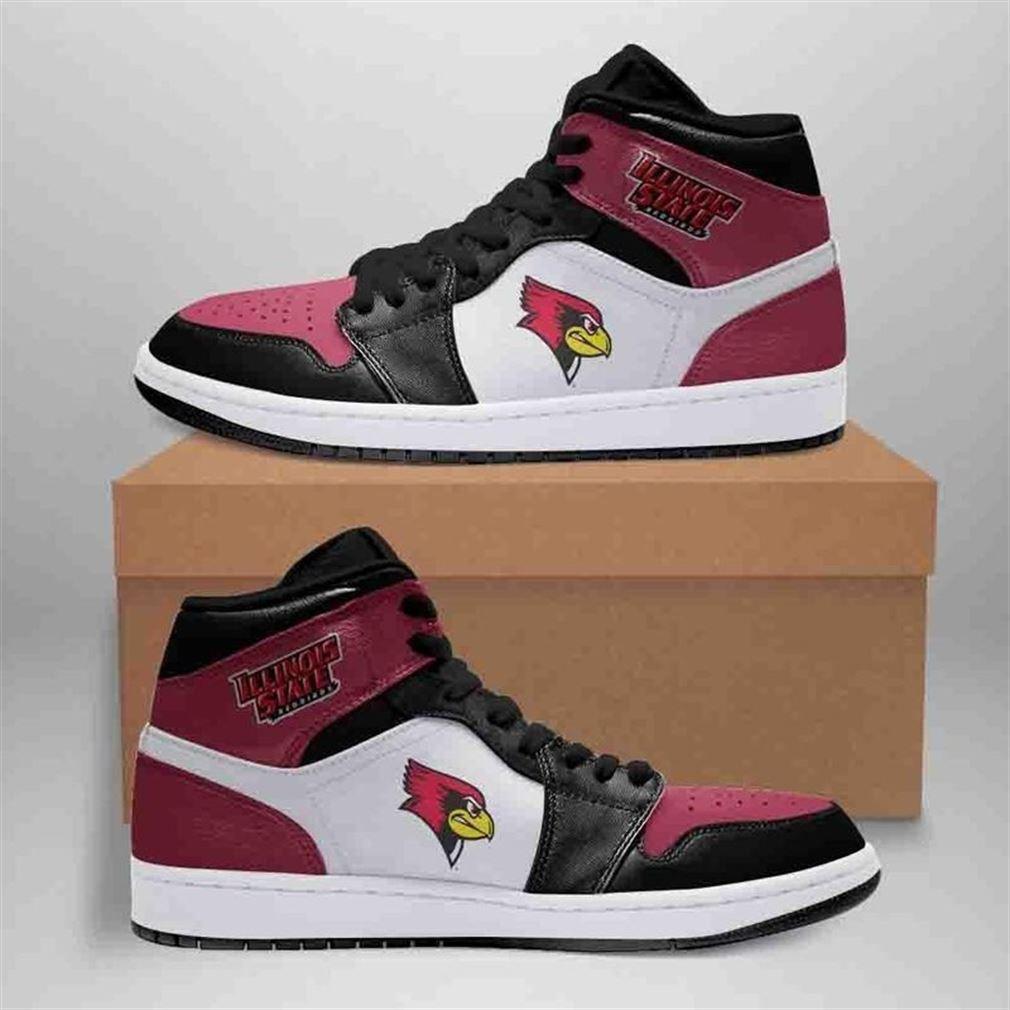 Illinois State Redbirds Jordan Shoes Sport Custom Jordan Shoe Sneaker Sneaker Boots Shoes