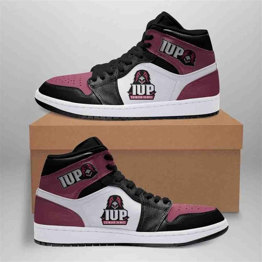 Indiana University Of Pennsylvania Crimson Hawks Jordan Shoes Sport Sneaker Boots Shoes