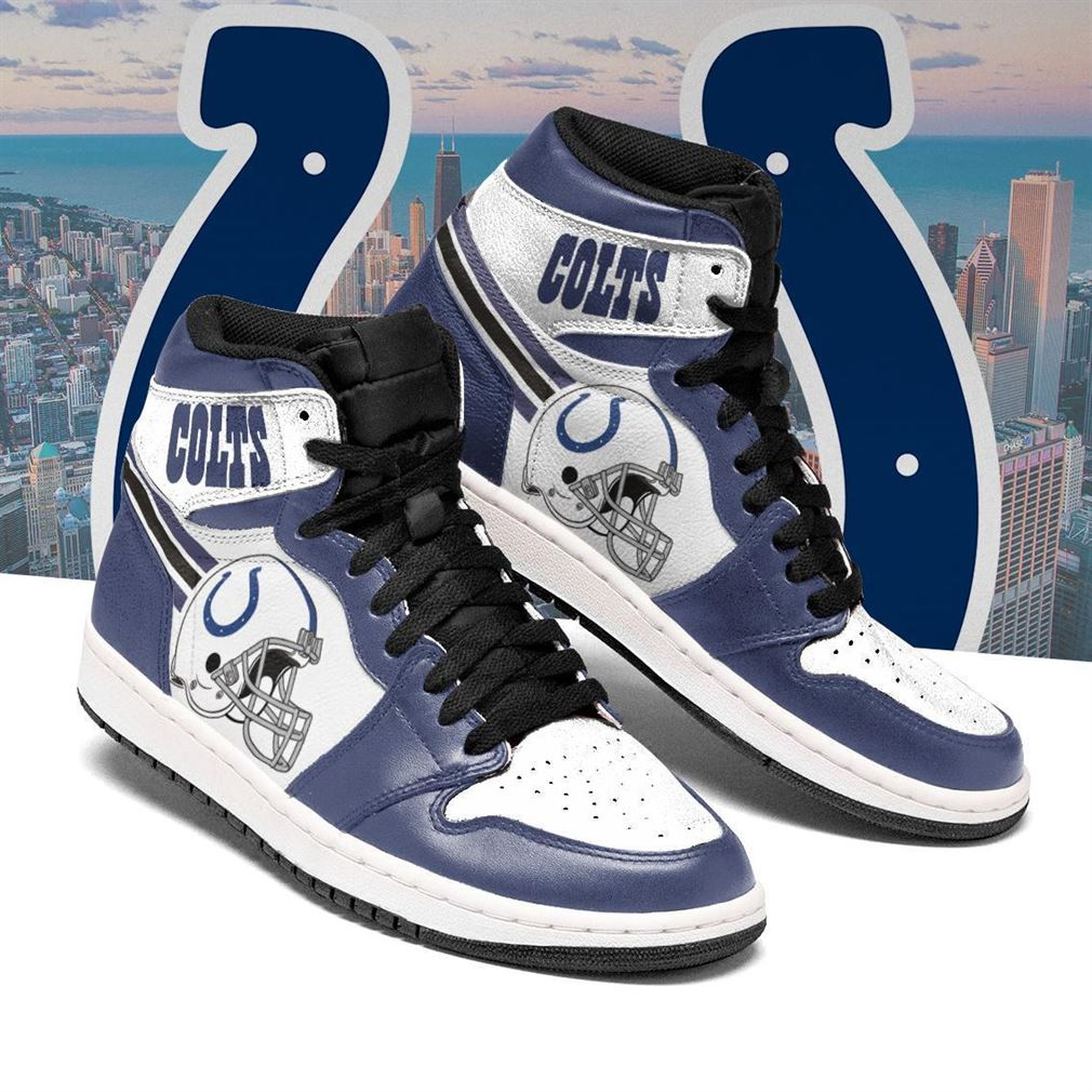 Indianapolis Colts Nfl Football Air Jordan Shoes Sport V4 Sneaker Boots Shoes