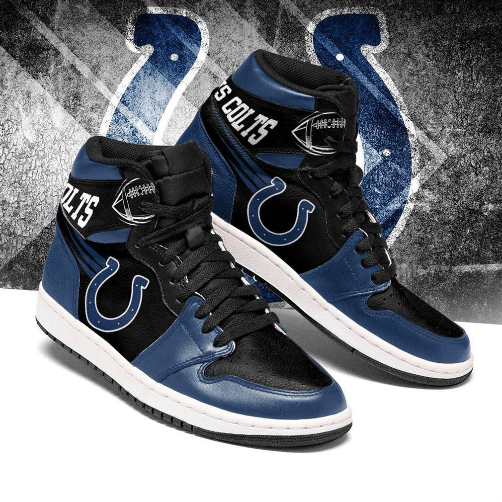 Indianapolis Colts Nfl Football Air Jordan Shoes Sport V6 Sneaker Boots Shoes