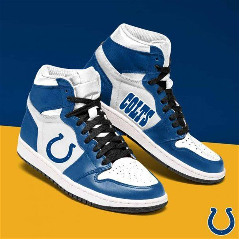 Indianapolis Colts Nfl Football Air Jordan Shoes Sport Sneaker Boots Shoes